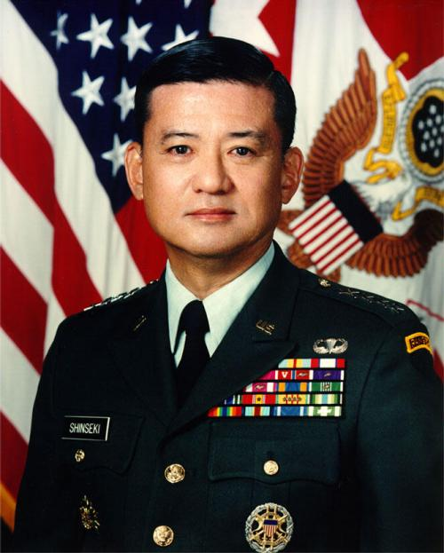 General Shinseki Is A Spectacular Pick!